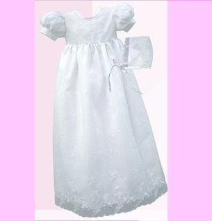 Heirloom Christening Baptism Gown Size 0-3 months (6-12 lbs)  DB3341.0
