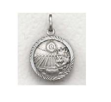 "Boys Swimming - Sterling Silver Sports Medal (20"" chain) SM0933SH"