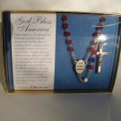 """GOD BLESS AMERICA"" ROSARY RS106"