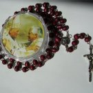 ROSE PETAL FIRST COMMUNION ROSARY RS130