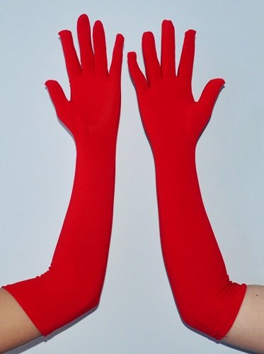 Comfortable Halloween Finger Long Gloves D65547