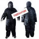 Halloween Scary Gorilla Costume 4 Pcs D65624