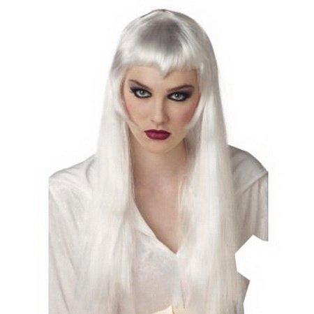 Masquerade Silver Women Long Hair Wig D65668