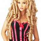 Masquerade Women's Gold Long Curly Hair Wig D65650