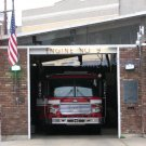 NO 21 5x7 Print Fine Art Image Photo Digital new orleans bourbon st architecture Fire truck Station