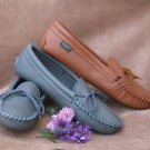 Women's Softsole Deerskin Moccasins Cushion Insoles Sizes 5-10 Made in USA