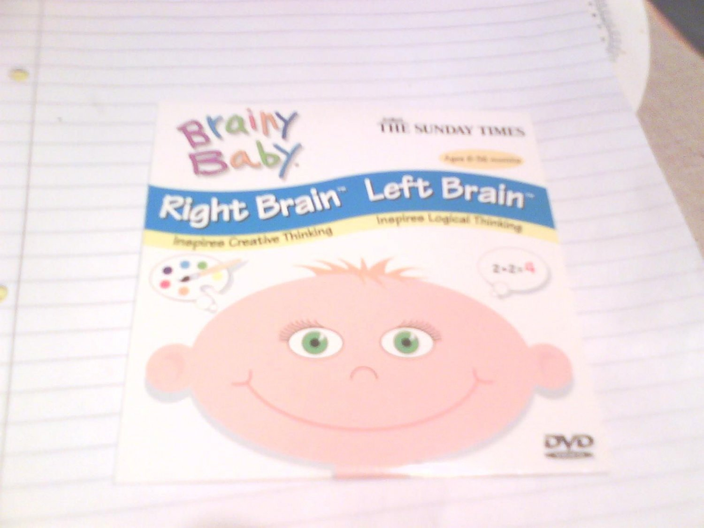 Brainy Baby Dvd Right Brain Left Brain Dvd Promo Times