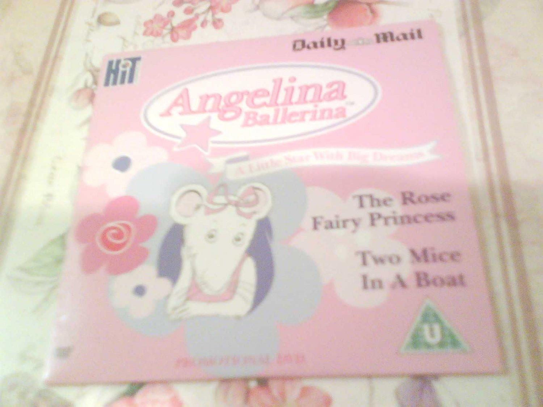 Angelina Ballerina DVD Promo The Mail Childrens Kids