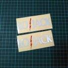 LoJack Stickers - REFLECTIVE