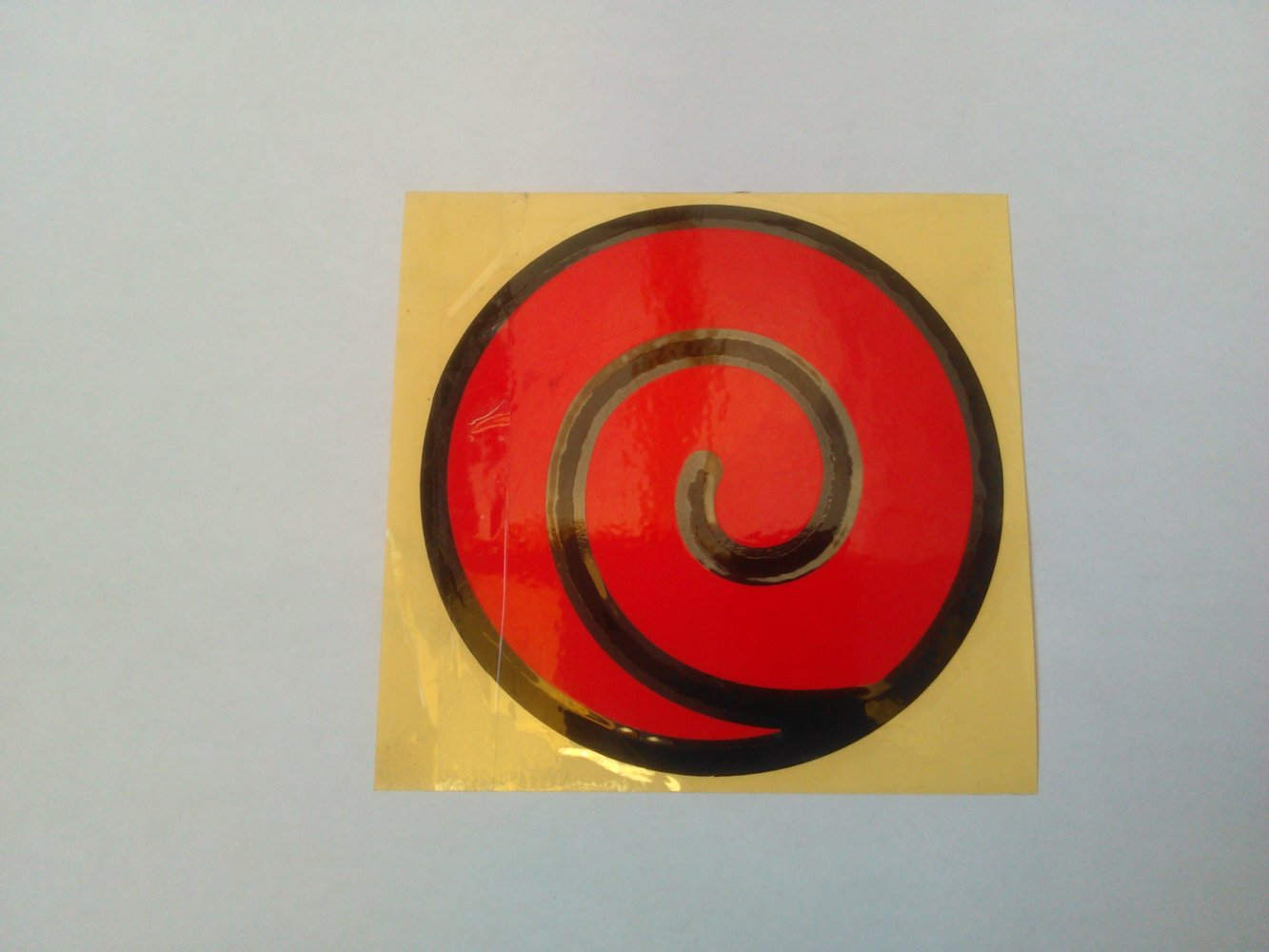 Uzumaki Clan Logo Naruto Anime Stickers - REFLECTIVE