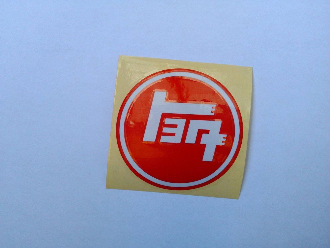 Toyota Toyoda TEQ Logo Classic Stickers - REFLECTIVE