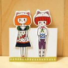 Adorbs Doll Pair Bookmarks #1
