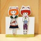 Adorbs Doll Pair Bookmarks #1