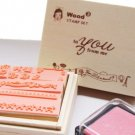 Message Stamps - 15 pcs