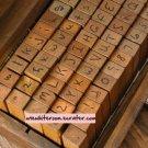 Handwriting Alphabet Stamps - 70 pcs