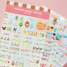 Drawing Stickers - 6 sheets