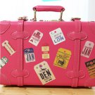 Vintage Tag Travel Stickers