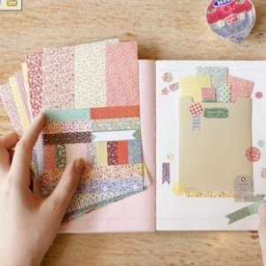 More More Petit Deco Pattern Stickers - 8 sheets