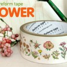 Flower Power Illustration Deco Tape