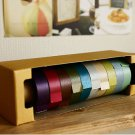A set of 10 pcs Shiny Glittery Color Masking Tape