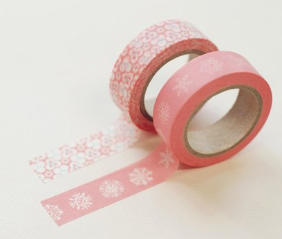 Masking Tape 2 in 1 - Pink and White