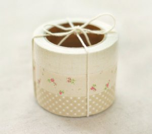 Fabric Tape 3 in 1 - Solid, Flower, Dot