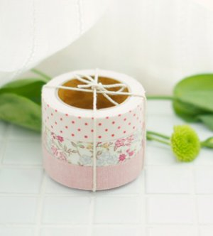 Fabric Tape 3 in 1 - Solid, Flower, Dot II