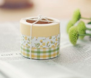 Fabric Tape 3 in 1 - Solid, Flower, Check II