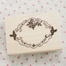 Maple Roses Frame Stamp