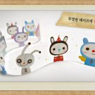 Cute Dollies Transparent Illustration Deco Tape
