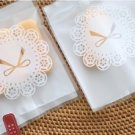 Pretty Bow and Laces Translucent Matte Pocket Packs - 20 pcs