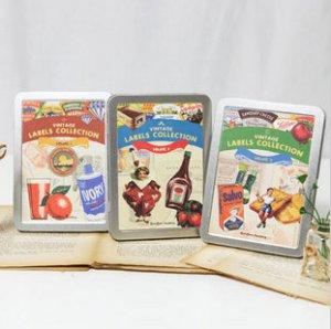 Vintage Label Stickers