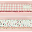 Patterned Pencil Box - Gingham, Flower