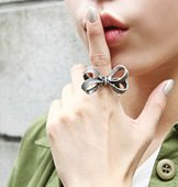 Tied-Up Ribbon Ring