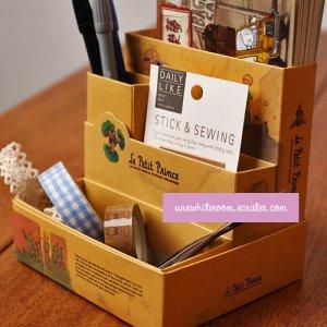 Retro Le Petit Prince DIY Desktop Storage Box
