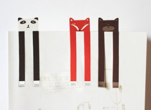 Cute Long Bookmarks - 3 pcs