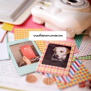 Pattern Polaroid Film Border - 20 pcs