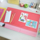 Polkadot Desk Mat - Mint, Pink, Peach
