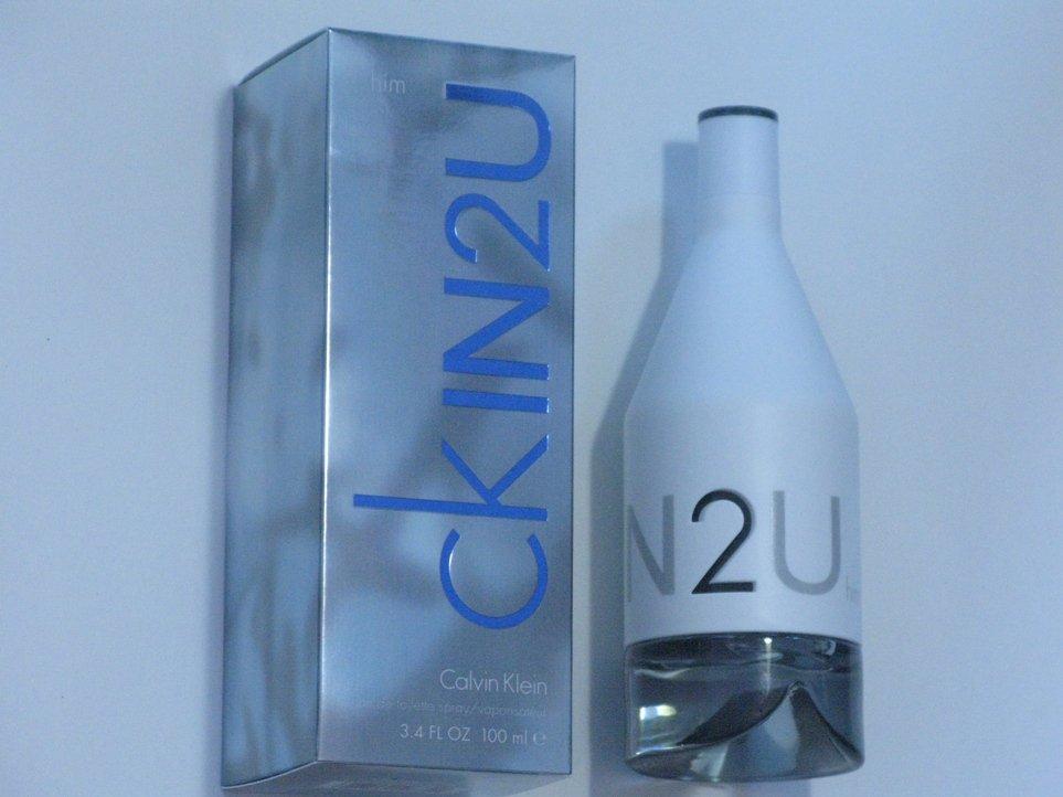 Calvin Klein In 2 U Men 3.4oz eau de toilette spray