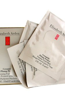 Elizabeth Arden Ceramide Plump Perfect Firming Facial Mask - 4 Packs of 15ml