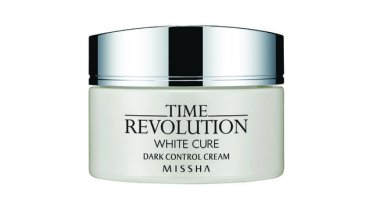 Missha Time Revolution White Cure Dark Control Cream 50 ml ( Price down ! )