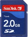 SanDisk Standard SD Card 2GB (SDSDB-2048)