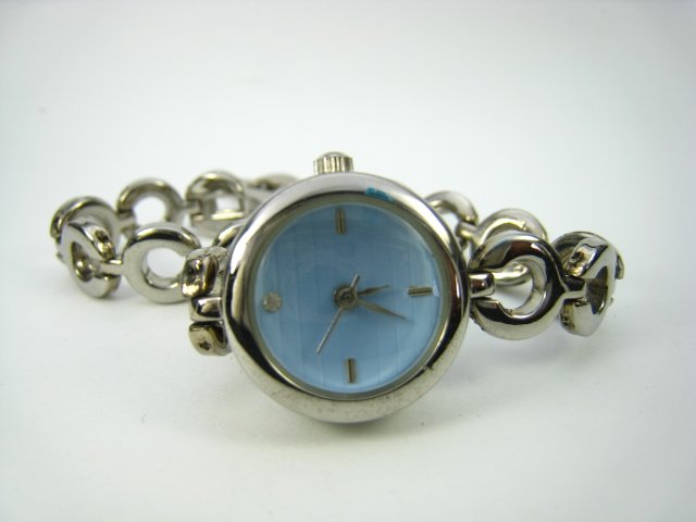 Exquisite Silver Lady Watch