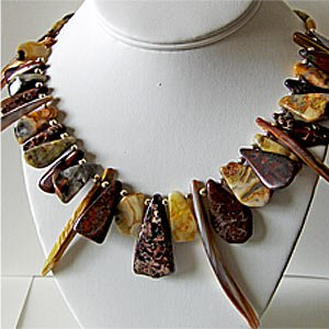 032N-Decorative Necklace.