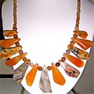 028N-Irresistible Dinosaur Jasper Necklace.