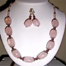 017ST-Elegant rose Quartz set.