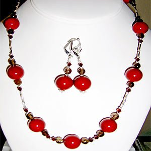 011ST-Irresistible cherry Mother of Pearl set.
