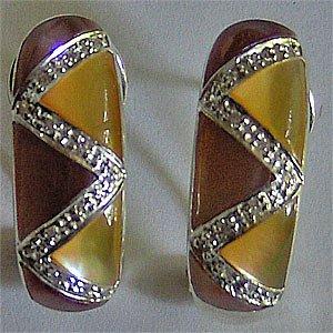 039E-Modern earrings.