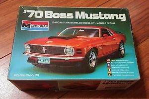 Monogram 1/24 1970 Boss Ford Mustang Model Kit