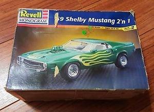 Revell 1/25 1969 Shelby Mustang Model Kit